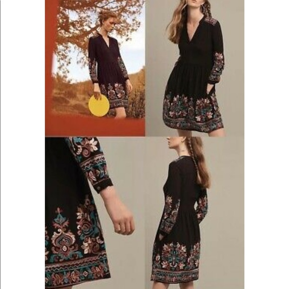 Anthropologie Dresses & Skirts - Anthropologie Floreat Avery Embroidered Dress Boho
